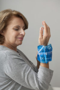 Cold Pack helps chiropractic adjusments last longer